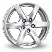 Alutec Blizzard Silver Alloy Wheels