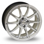 Image for Dare X1 Hyper_Silver Alloy Wheels