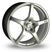 Image for Dare Evo_5 Hyper_Silver Alloy Wheels