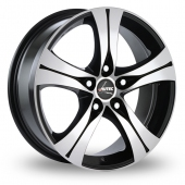 "18"" Autec Ethos Polished Alloy Wheels"