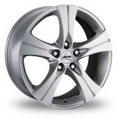 "18"" Autec Ethos Silver Alloy Wheels"