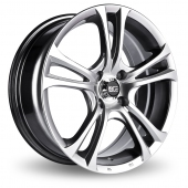 Image for Ace 205_Manta Hyper_Black Alloy Wheels