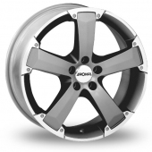 Image for Ronal R47 Anthracite_Polished Alloy Wheels