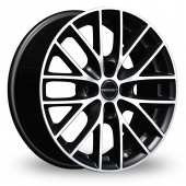 Image for Borbet BS4 Black_Polished Alloy Wheels