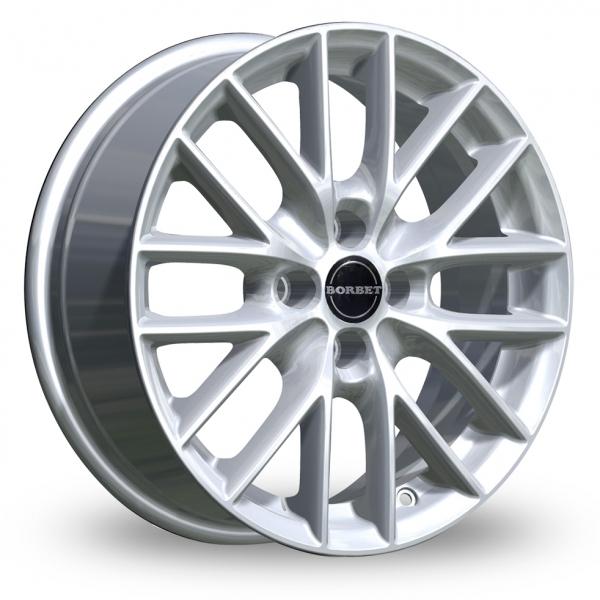 Zoom Borbet BS4 Silver Alloys