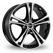 Image for Borbet XL Black_Polished Alloy Wheels