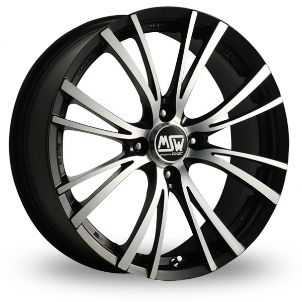 Zoom MSW_(by_OZ) 20-4_Stud Black_Polished Alloys