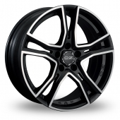 Image for OZ_Racing Adrenalina Black_Polished Alloy Wheels