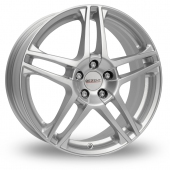 "17"" Dezent RB Silver Special Offer Alloy Wheels"