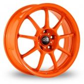 Image for OZ_Racing Alleggerita_HLT Orange Alloy Wheels