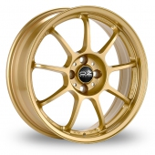Image for OZ_Racing Alleggerita_HLT Gold Alloy Wheels