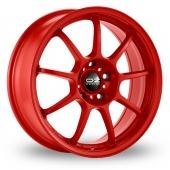 Image for OZ_Racing Alleggerita_HLT Red Alloy Wheels