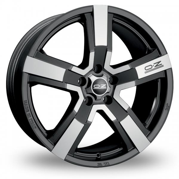 Zoom OZ_Racing Versilia Black_Polished Alloys