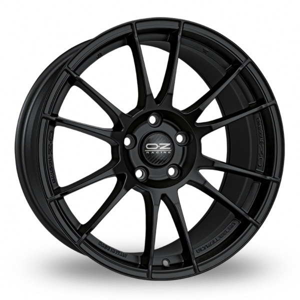 4 x 17 oz racing ultraleggera matt black alloy wheels tyres ebay. Black Bedroom Furniture Sets. Home Design Ideas