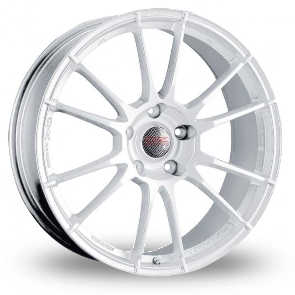 oz racing ultraleggera white 18 alloy wheels wheelbase. Black Bedroom Furniture Sets. Home Design Ideas