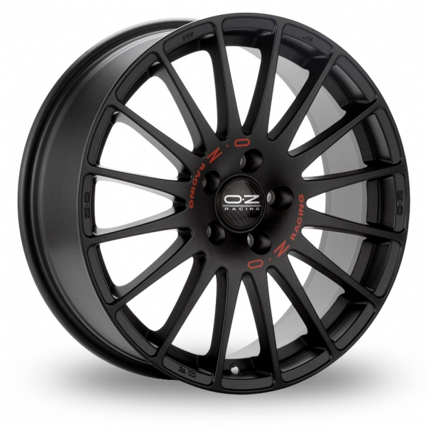 oz racing superturismo gt black 17 alloy wheels wheelbase. Black Bedroom Furniture Sets. Home Design Ideas