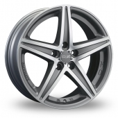 Image for OZ_Racing Energy Silver_Polished Alloy Wheels