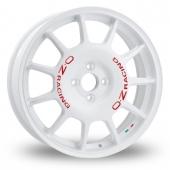 OZ Racing Leggenda White Alloy Wheels