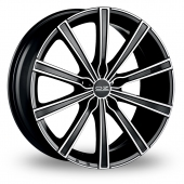 Image for OZ_Racing Lounge_10 Black_Polished Alloy Wheels