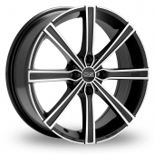 Image for OZ_Racing Lounge_8 Black_Polished Alloy Wheels