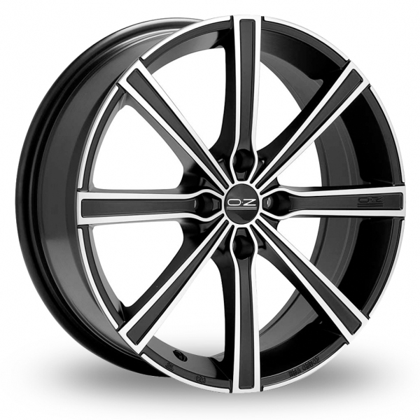 Zoom OZ_Racing Lounge_8 Black_Polished Alloys