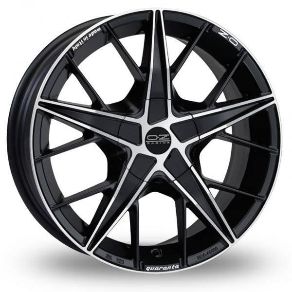 Zoom OZ_Racing Quaranta Black_Polished Alloys