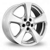 Borbet CC Silver Alloy Wheels
