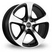 Borbet CC Black Polished Alloy Wheels