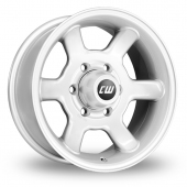 Image for CW_(by_Borbet) Off_Road Silver Alloy Wheels