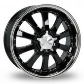 Zito Derosa Black Polished Alloy Wheels