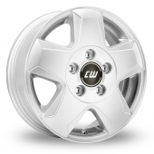 Image for CW_(by_Borbet) CG Silver Alloy Wheels