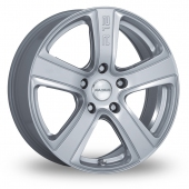 Image for Radius R12_Naked Silver Alloy Wheels
