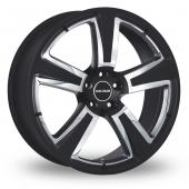 Image for Radius R15 Black Alloy Wheels