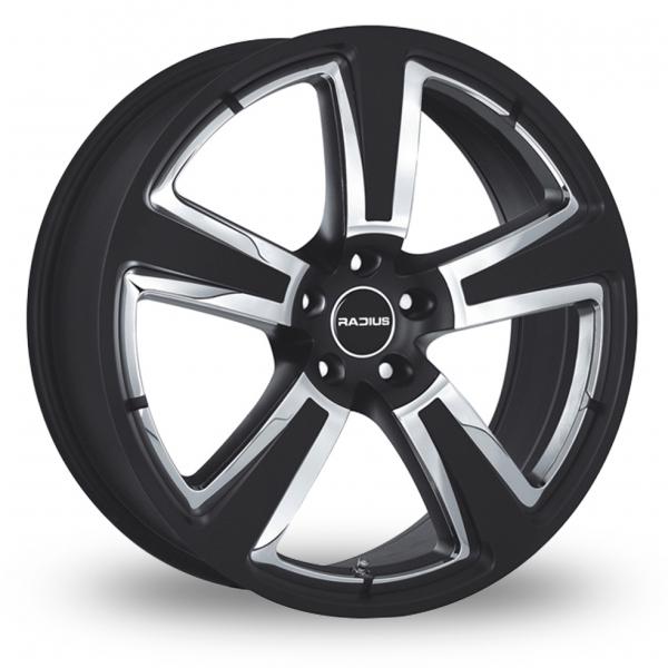 Zoom Radius R15 Black Alloys