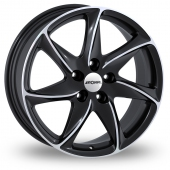 Image for Ronal R51 Black_Polished Alloy Wheels