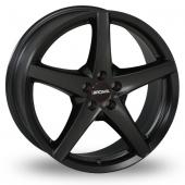 Image for Ronal R41 Matt_Black Alloy Wheels