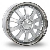 Image for Zito Derosa Silver Alloy Wheels