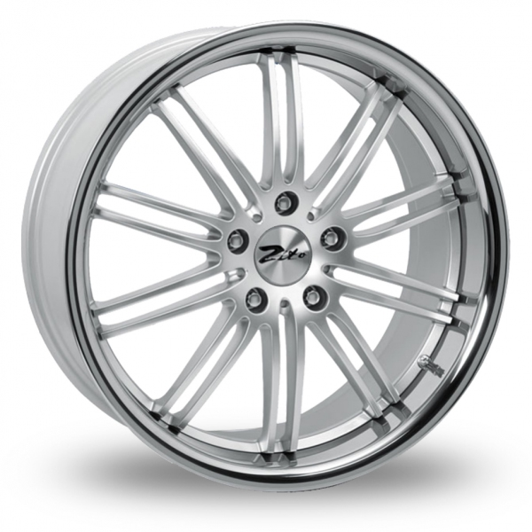 Picture of 19 Inch Zito Belair Hyper Silver Alloy Wheels