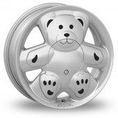Image for Ronal URS_Teddy Silver Alloy Wheels