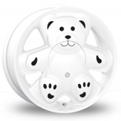 Image for Ronal URS_Teddy White Alloy Wheels