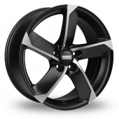 Image for Fondmetal 7900 Black_Polished Alloy Wheels