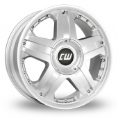 Image for CW_(by_Borbet) CWB Silver Alloy Wheels