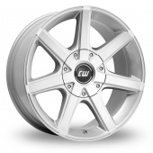 Image for CW_(by_Borbet) CWE Silver Alloy Wheels
