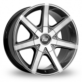 Image for CW_(by_Borbet) CWE Anthracite_Polished Alloy Wheels
