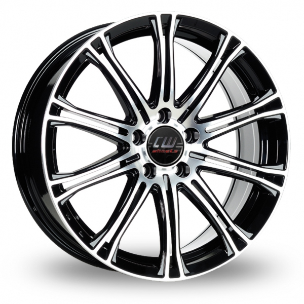 Zoom CW_(by_Borbet) CW1 Black_Polished Alloys