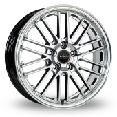 Image for CW_(by_Borbet) CW2 Hyper_Silver Alloy Wheels
