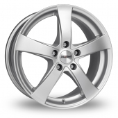 Dezent RE Silver Alloy Wheels