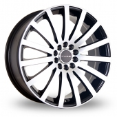 Image for Dare Madisson Black_Polished Alloy Wheels
