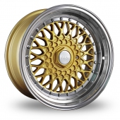 Dare DR-RS Gold Alloy Wheels