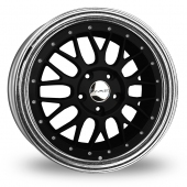 Image for Dare DR-LM Matt_Black Alloy Wheels
